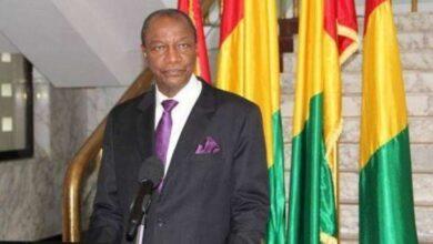 صورة القبض على الرئيس الغيني
