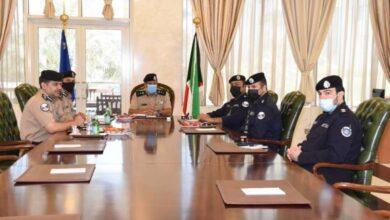 صورة الفريق النواف ترأس اجتماعاً مع الإدارة العامة للعلاقات والإعلام الأمني