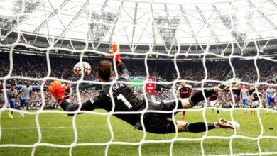 صورة لينغارد ودي خيا يقودان مانشستر يونايتد للفوز على وست هام