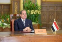 """صورة سد النهضة: الرئيس عبد الفتاح السيسي يحذر من """"تهديد واسع لاستقرار المنطقة"""" في ظل تعثر المفاوضات"""