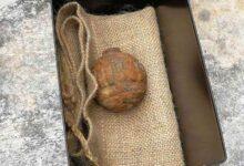 """صورة قنبلة من الحرب العالمية الأولى تحوّل """"شهر عسل"""" إلى مأتم"""