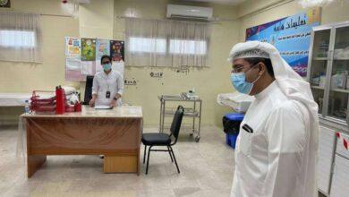 صورة وكيل «الصحة» يتفقد بعض مدارس منطقتي العاصمة والفروانية التعليميتين