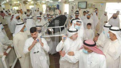 صورة ثرى الكويت… احتضن جثمان المؤرخ سيف الشملان