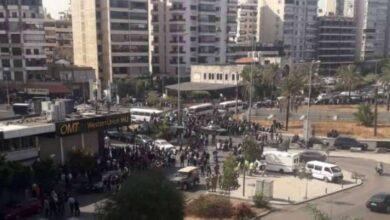 صورة أجواء التوتر تسود بيروت وسط تحضيرات لتشييع قتلى الاشتباكات