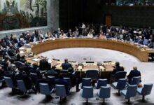 صورة جلسة طارئة لمجلس الأمن حول كوريا الشمالية