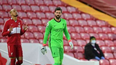 صورة ليفربول يعلن غياب أليسون وفابينيو عن مواجهة واتفورد في الدوري الإنجليزي