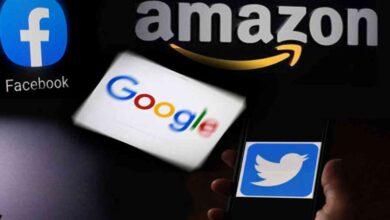 صورة «تويتر» و«غوغل» و«أمازون» تنضم إلى التطبيقات المعطَّلة