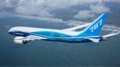 صورة بوينغ تقع على عيب جديد في طائرتها دريملاينر 787