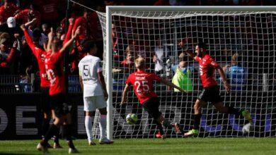 صورة سان جيرمان يتلقى أول هزيمة هذا الموسم في رين